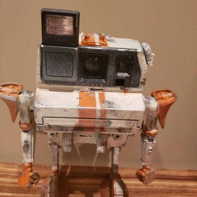 Poladroid walker robot.