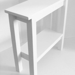 Chair Side Tables With Storage Modern Outdoor Narrow End Table Entryway Console Etsy