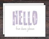 HELLO Note Card Set | Per...