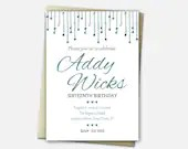 Birthday Invitations - Sw...