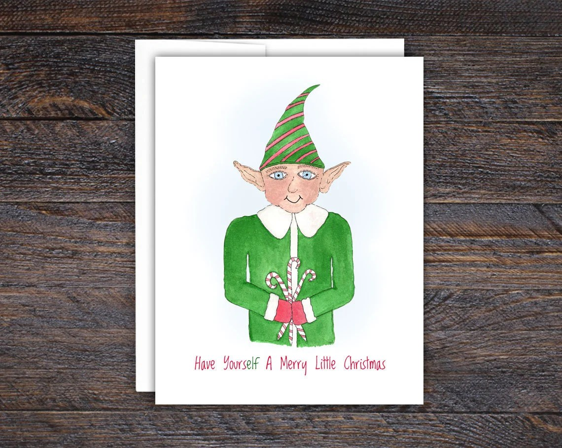 Elf Card, Have YoursELF A...