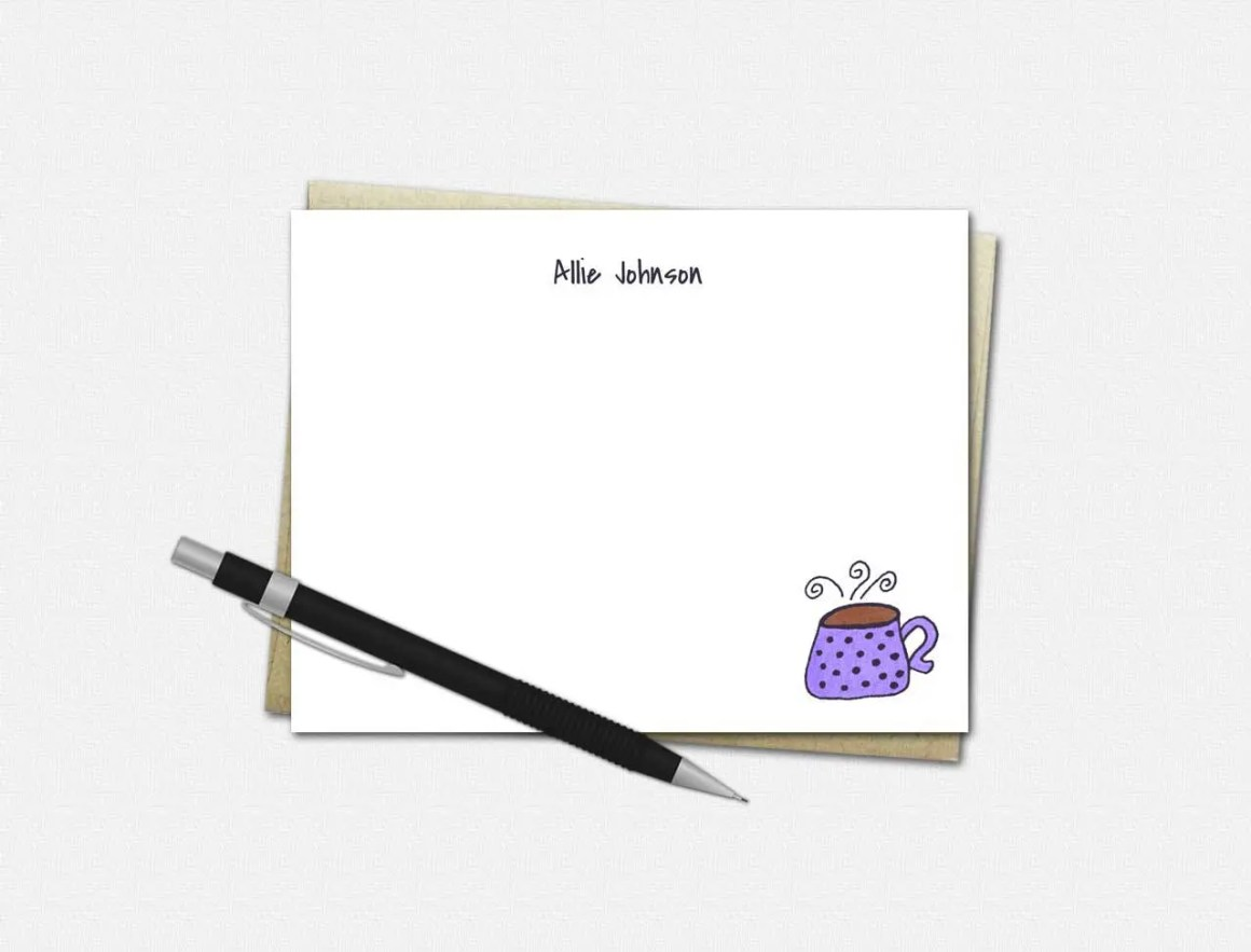 Custom Flat Note Cards | ...