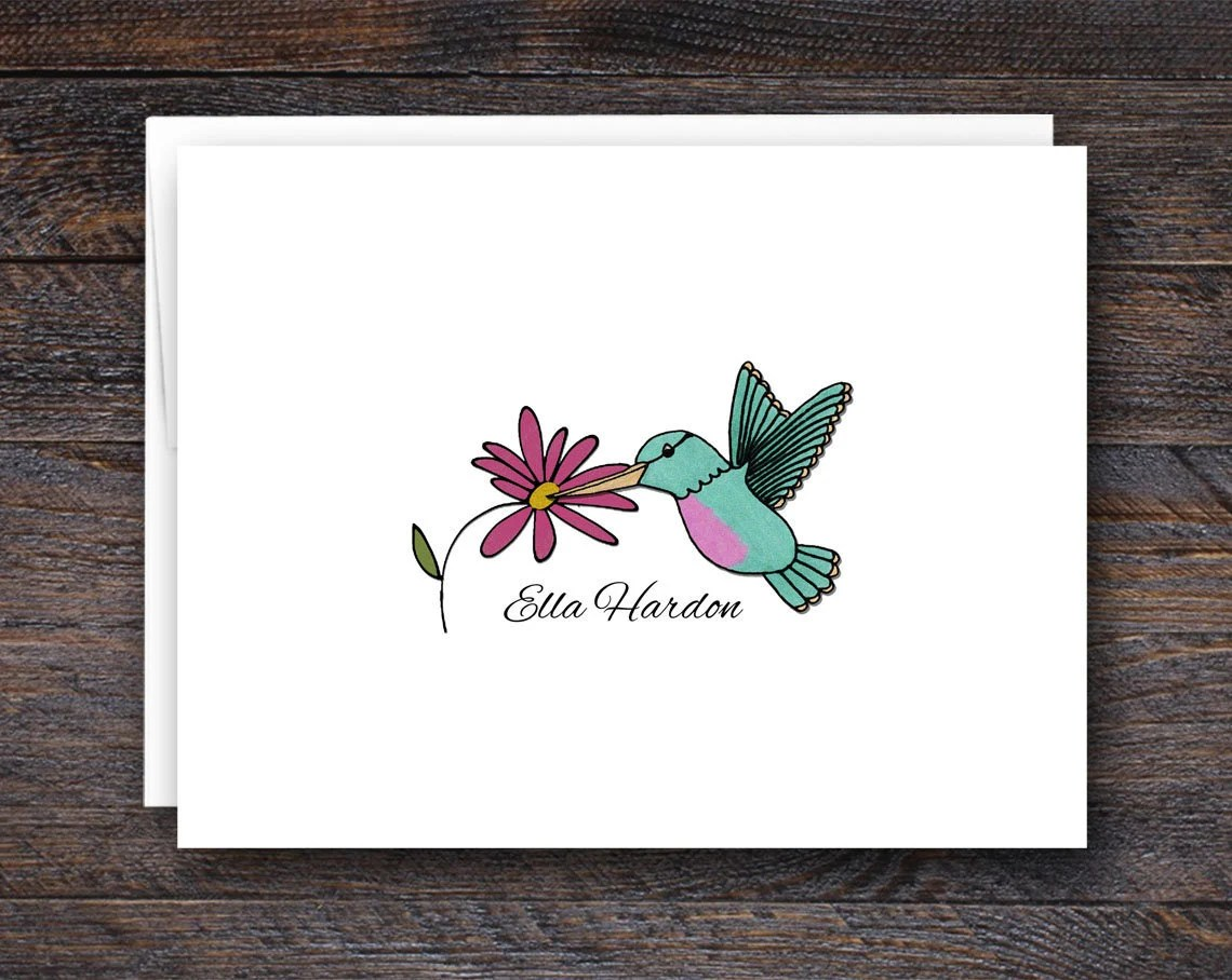 Personalized Note Card Se...