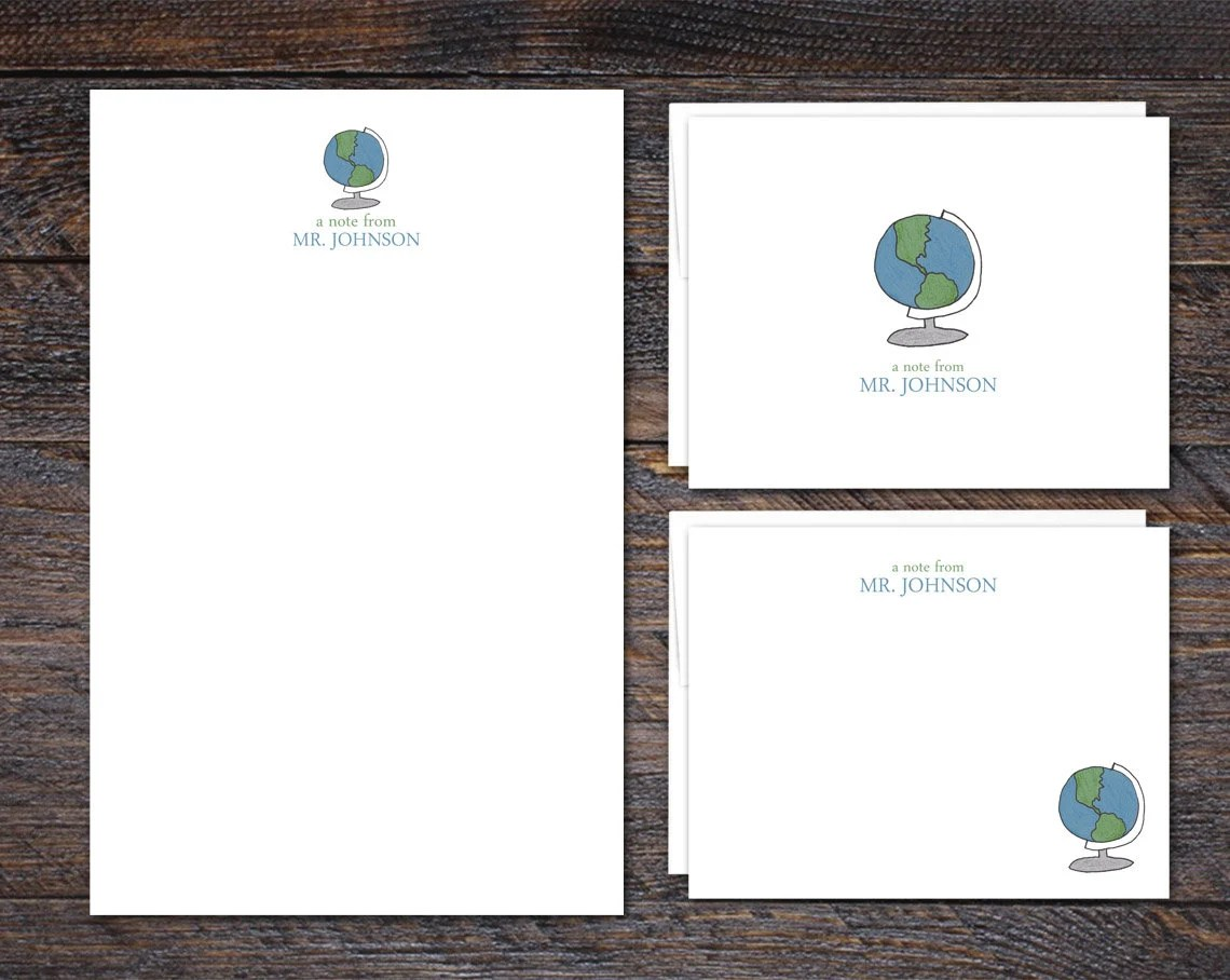 Custom Stationery Set | G...