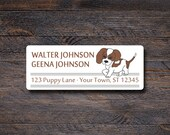Beagle Dog Address Labels...