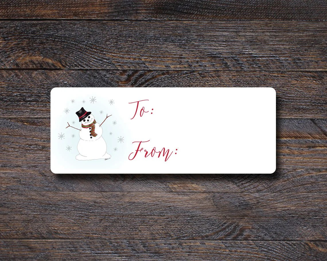Christmas Gift Labels | S...