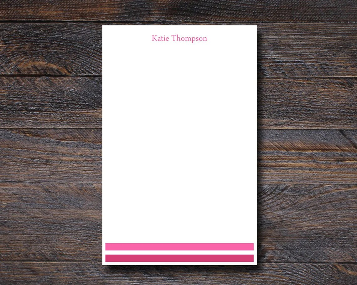 Personalized Notepad | Pr...