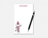 Sock Monkey Notepad - Per...