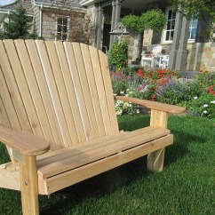 Adirondack Chairs Kits Chair Covers Wedding London 2 Unfinished Or Partially Etsy Loveseat Kit Assembled