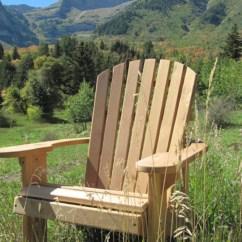 Adirondack Chair Kit Sunbrella Cushions 20 X 1 Unfinished 99 Clear Wood Etsy Image 0