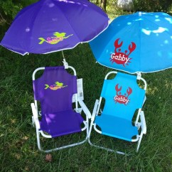Toddler Beach Chair With Umbrella Lowes Outdoor Rocking Chairs Childrens And Monogrammed Etsy Image 0