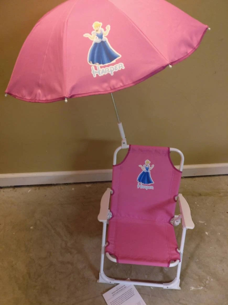 Monogrammed Toddler Chair Toddler Childrens Beach Chair And Umbrella Monogrammed Personalized Pink Blue Purple