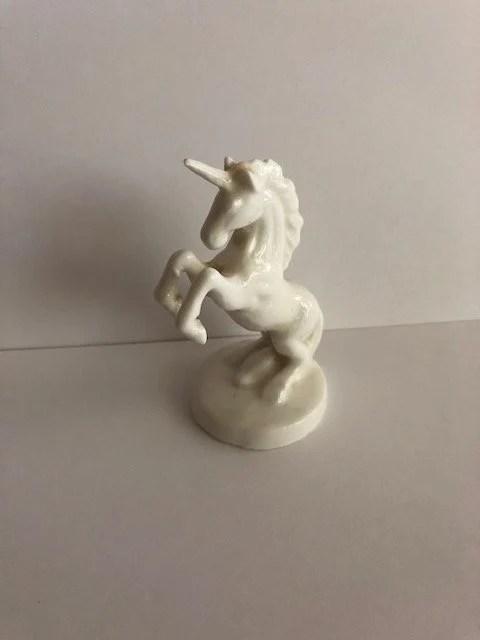 unicorn statue etsy