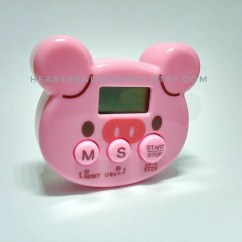 Pig Kitchen Undermount Sinks At Lowes Cute Timer For Timing Oven Clay Craft Projects Etsy Image 0