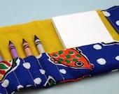 Crayon Tri-fold Wallet Bl...