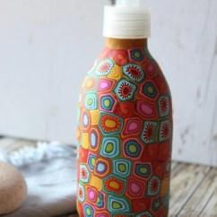 Kitchen Dish Soap Dispenser Backsplash Trends Colorful Hand Etsy Image 0