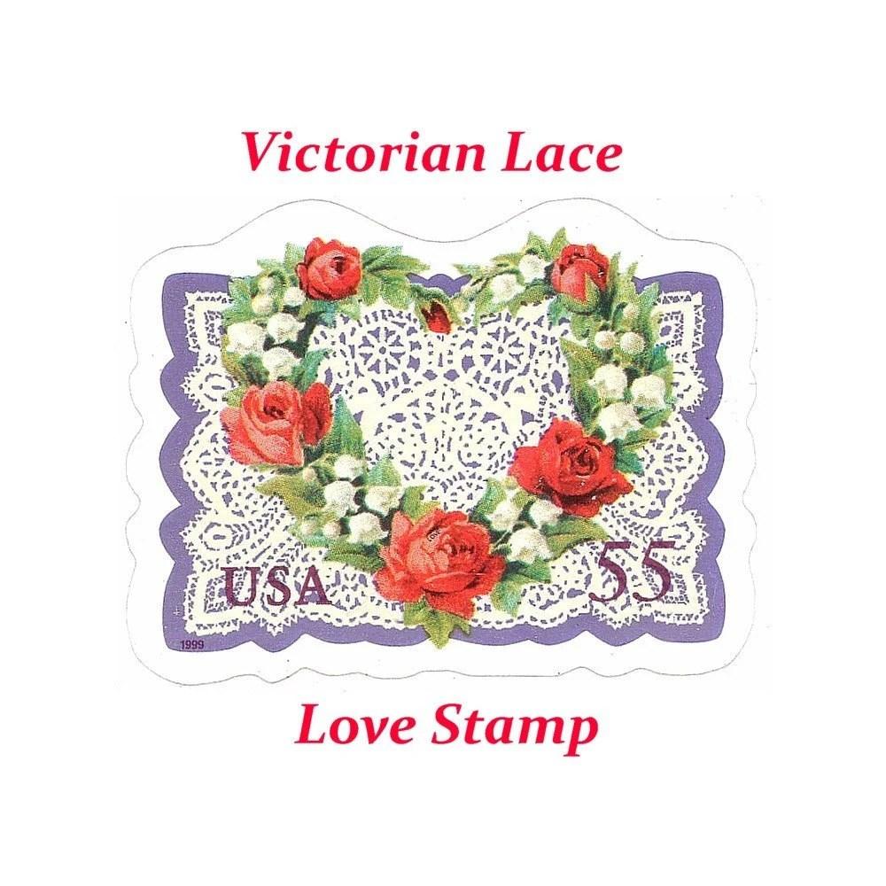 five 55c victorian lace