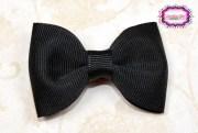 black 2.5 hair bow tuxedo simple