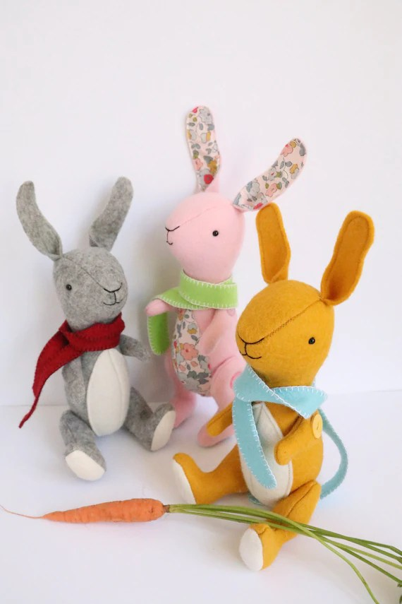 Get Hopping with Easter Bunny Patterns to Sew