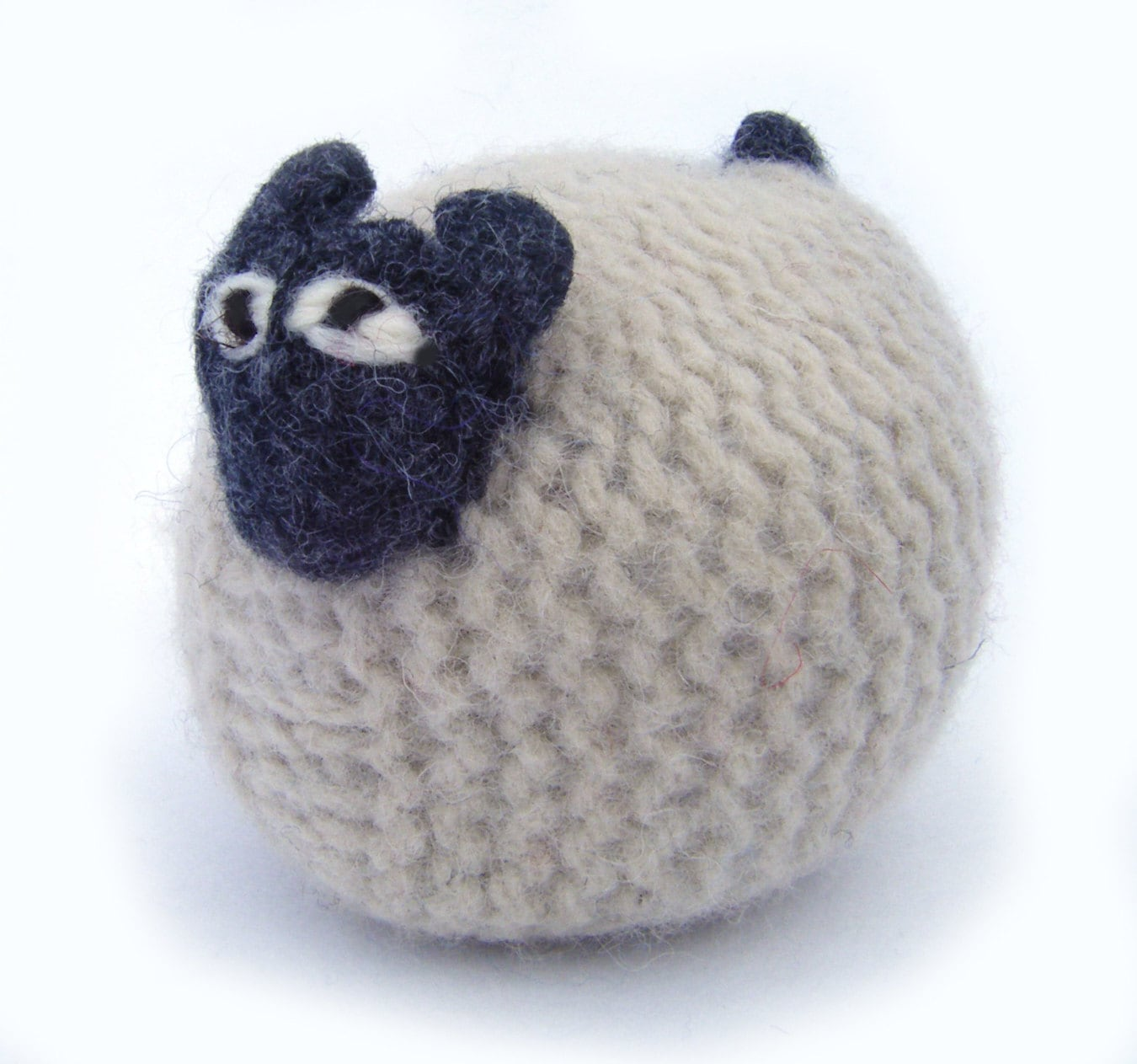 Cream Knitted Sheep made form pure wool in Scotland   Etsy