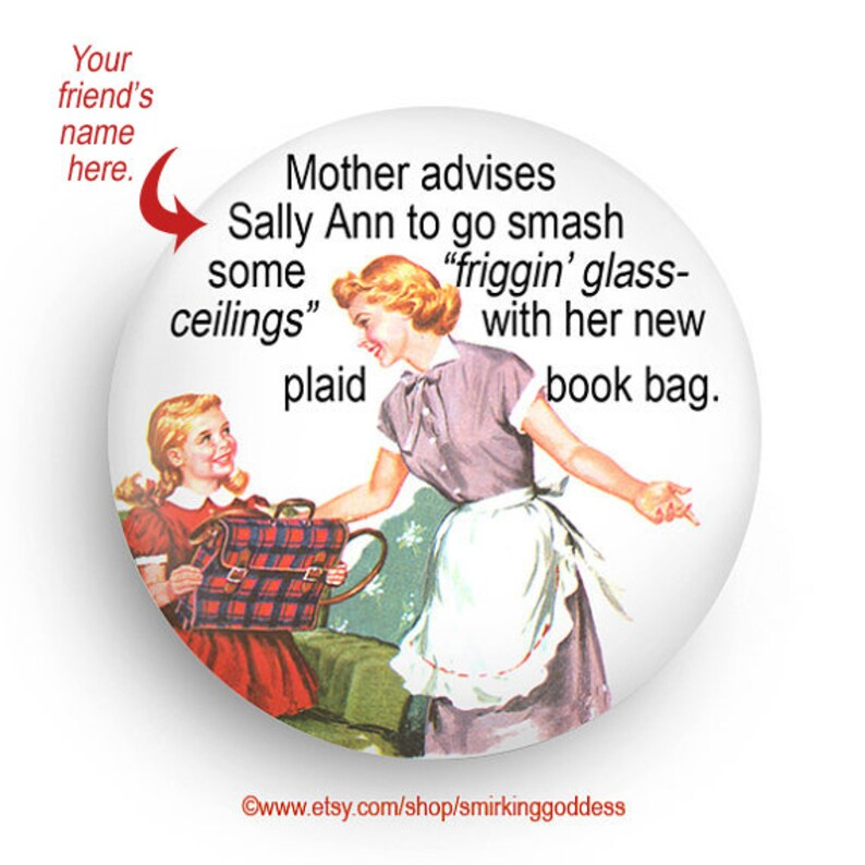 personalize magnet funny 50