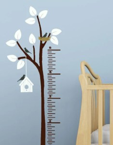 Image also growth chart decal for walls wall ruler etsy rh