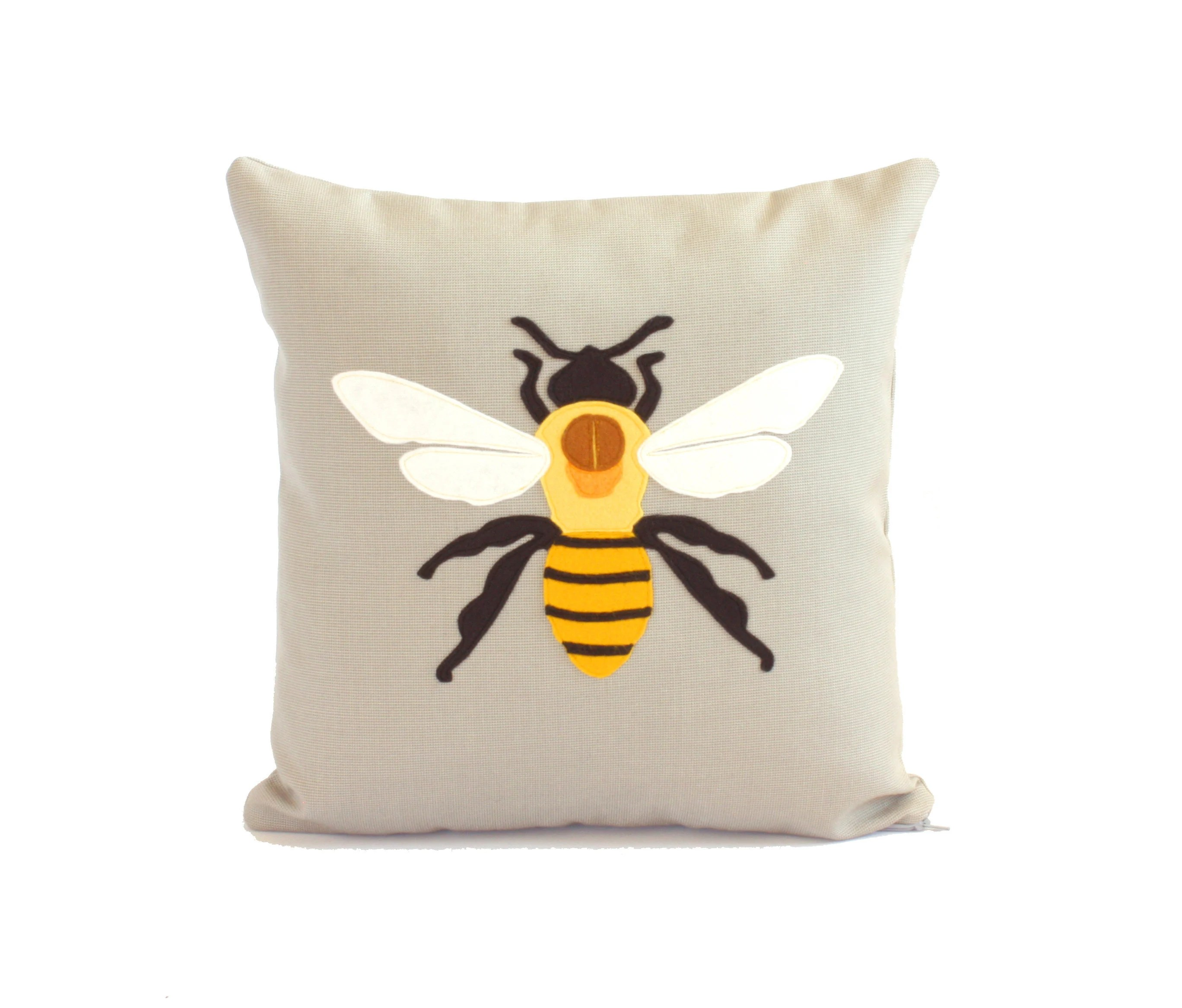 bumble bee diagram pigtail wiring science pillow lover gift queen etsy 50