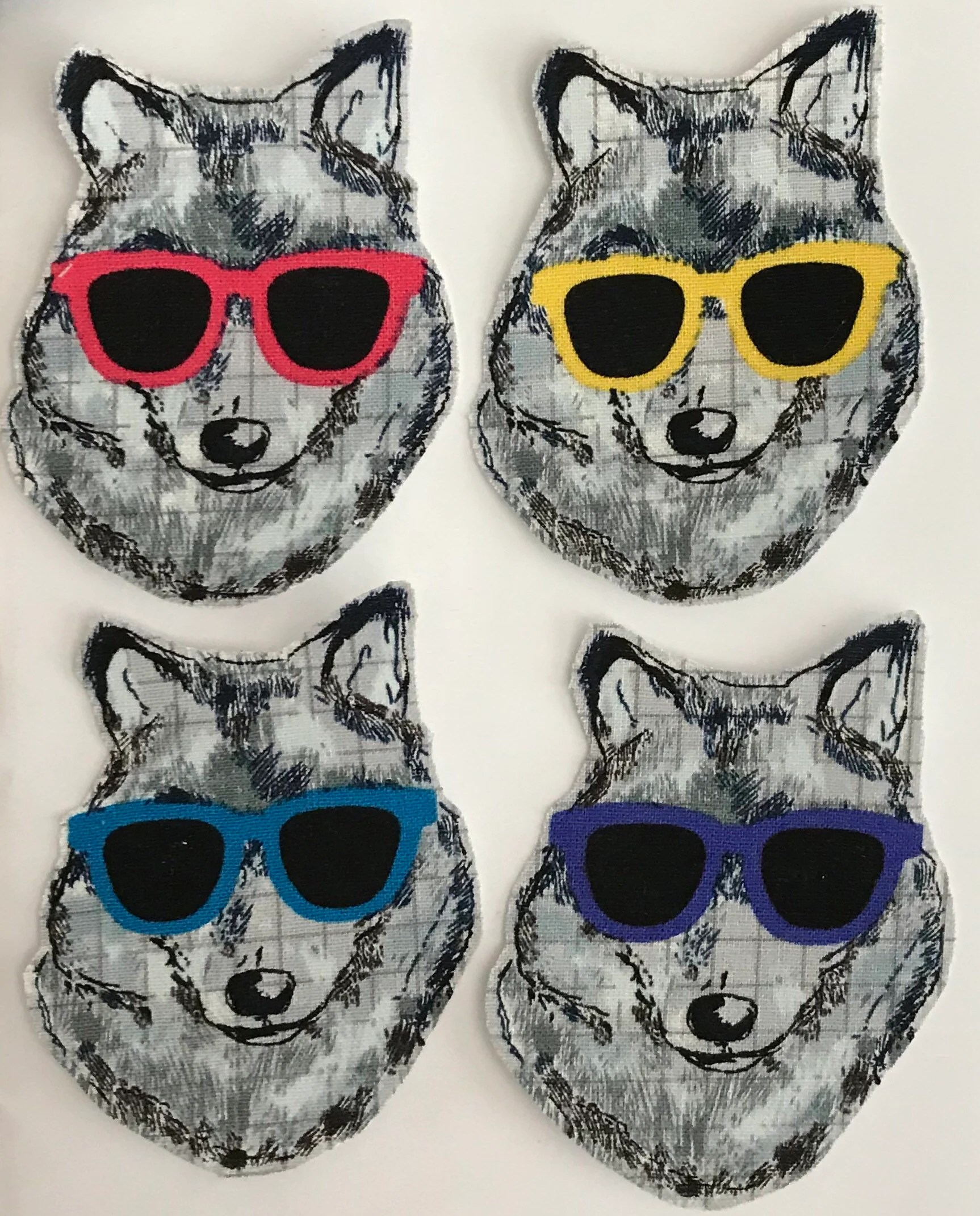 cool wolves iron on