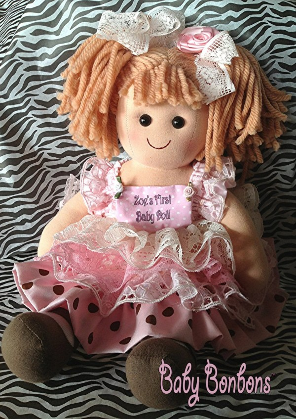 Baby' Baby Doll Personalized Dressed