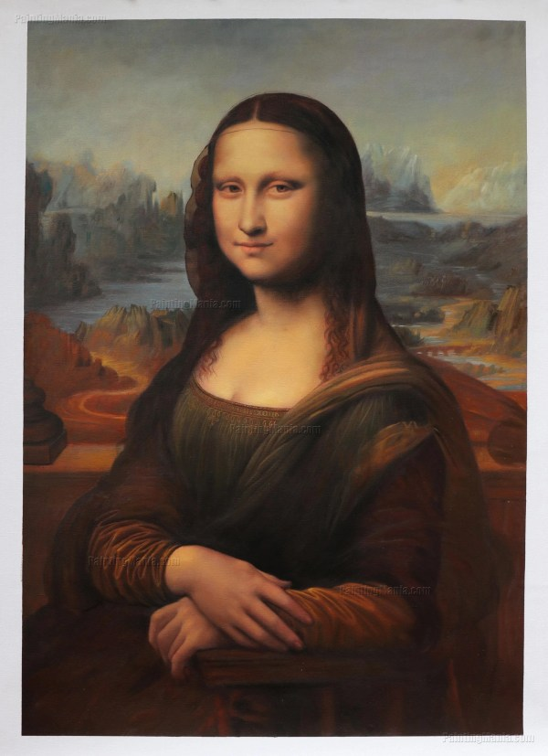 Mona Lisa La Gioconda Leonardo Da Vinci Hand-painted Oil