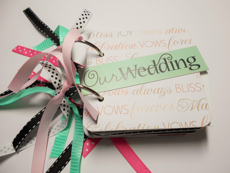Hochzeit HochzeitMiniAlbum Scrapbook Hochzeitsalbum  Etsy