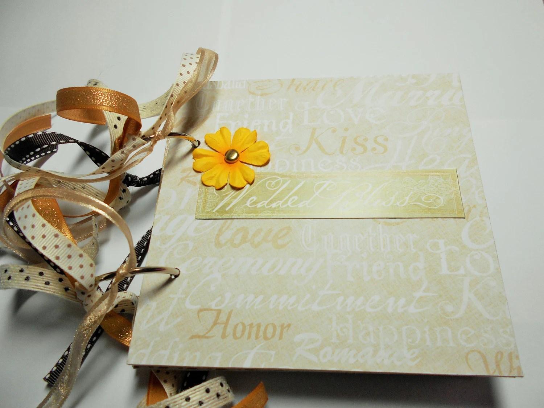 Hochzeit MiniAlbum MiniAlbum Scrapbook Memory Book 6 x  Etsy
