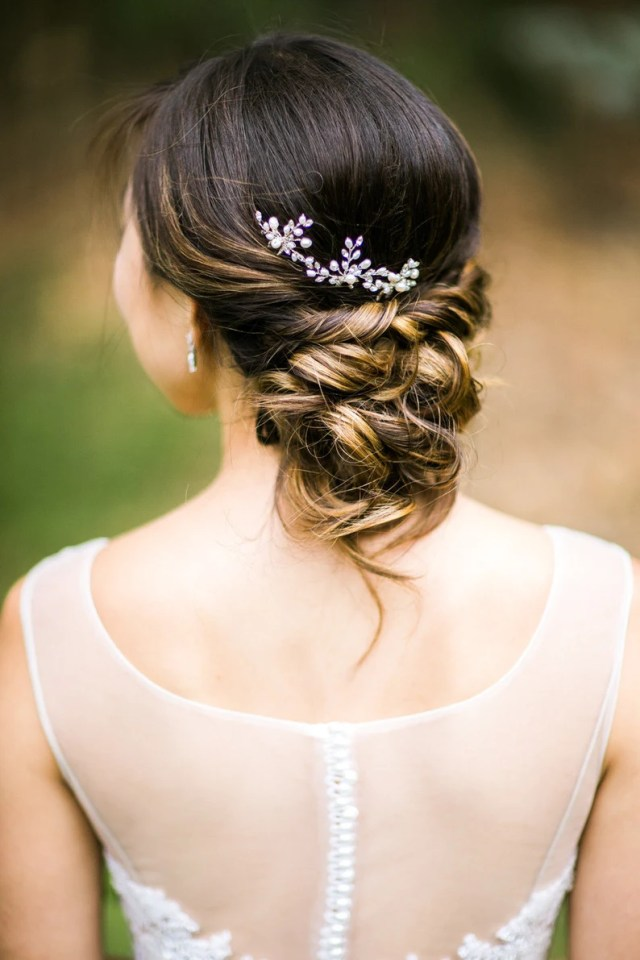 pearl hair pins, wedding hair pins with pearls and crystals, bridal headpiece, bridesmaid gift, hair accessories, pearl vine