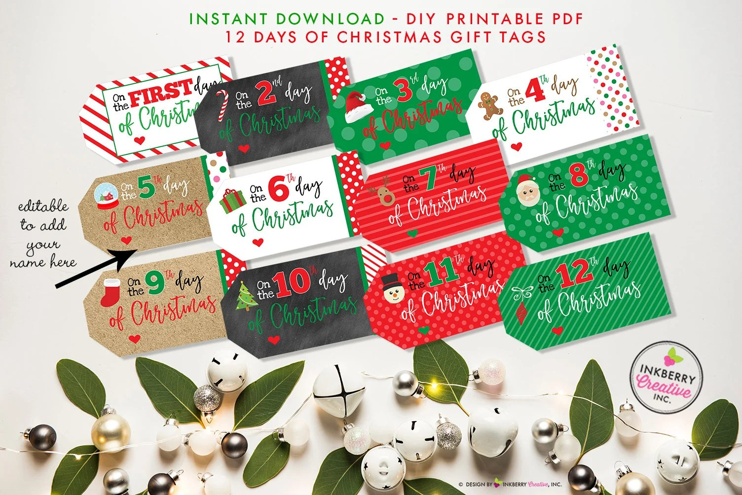 The 12 Days Of Christmas Gifts