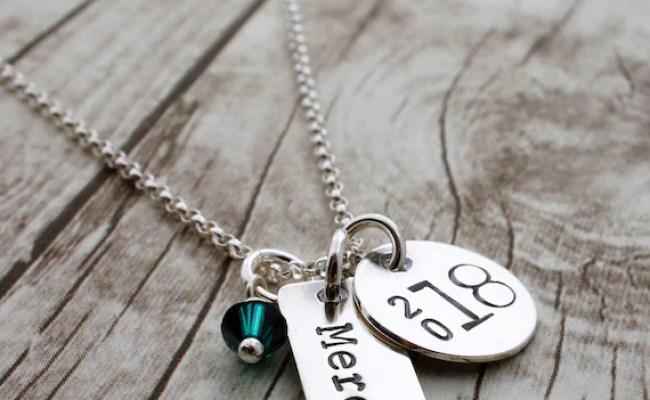 Graduation Jewelry Gift Class Of 2019 Personalized