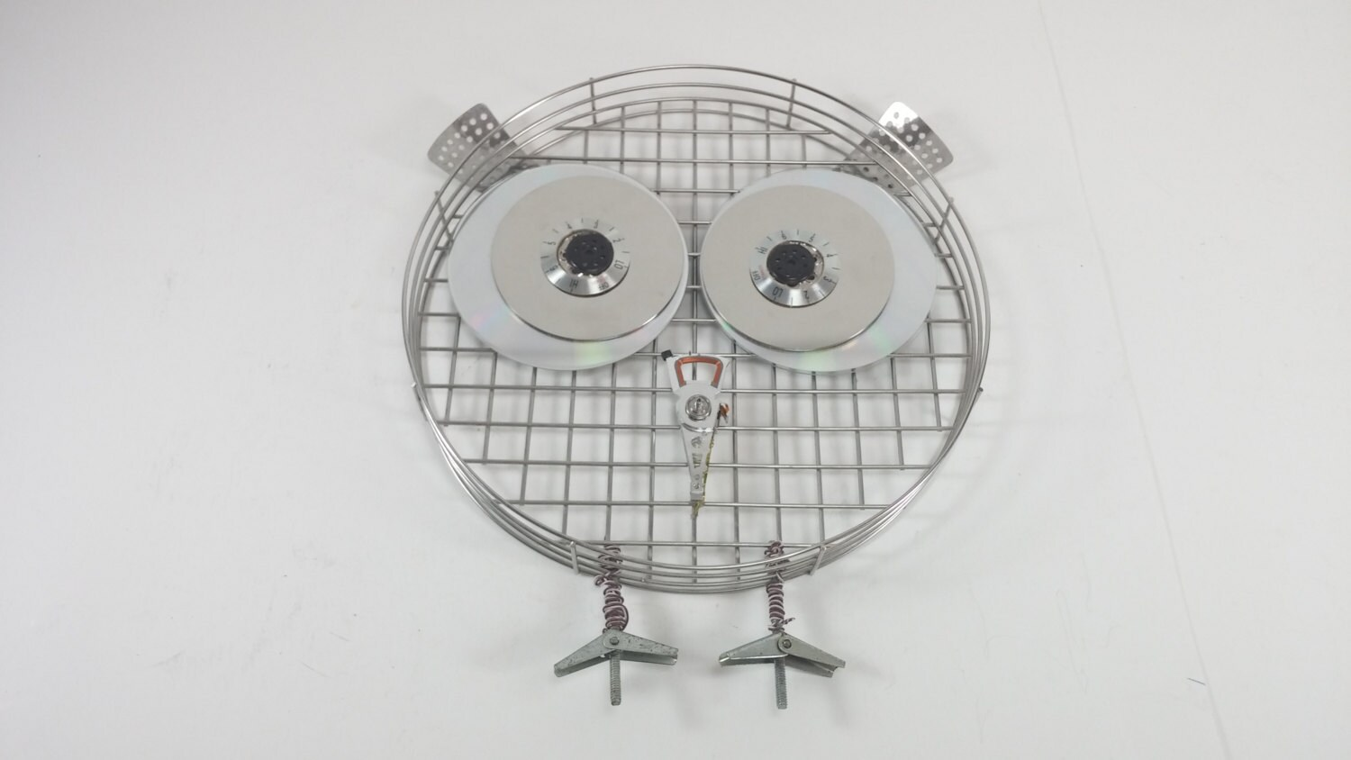 Cute Owl Decor Metal Owl Wall Decor Hand Made Cute Owl Decor