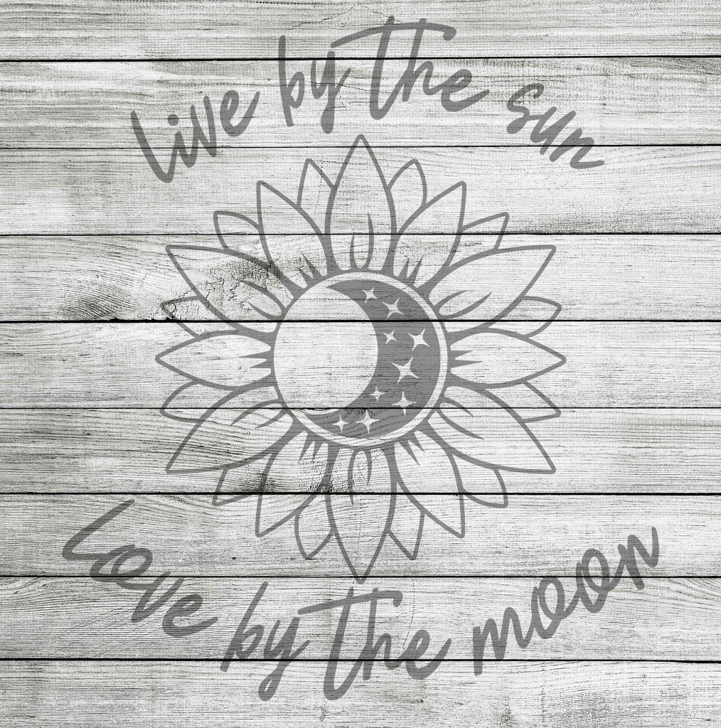 Download Live by the Sun Love by the Moon SVG, JPG & PNG *Instant ...