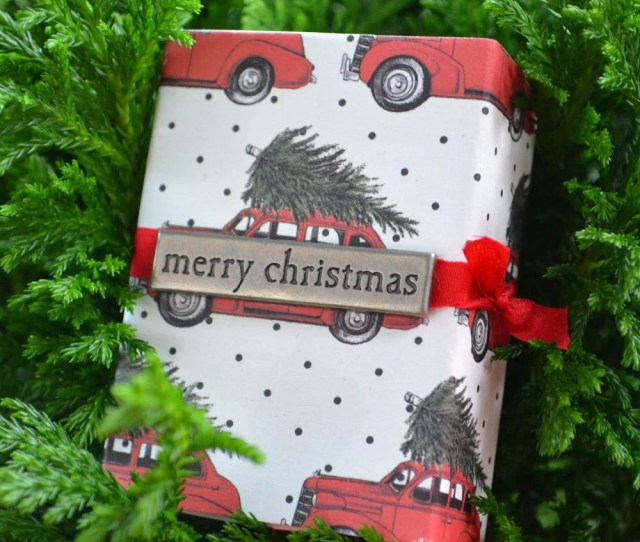 Small Christmas Gift Box For Gifts Stockings Or Advent Calendar