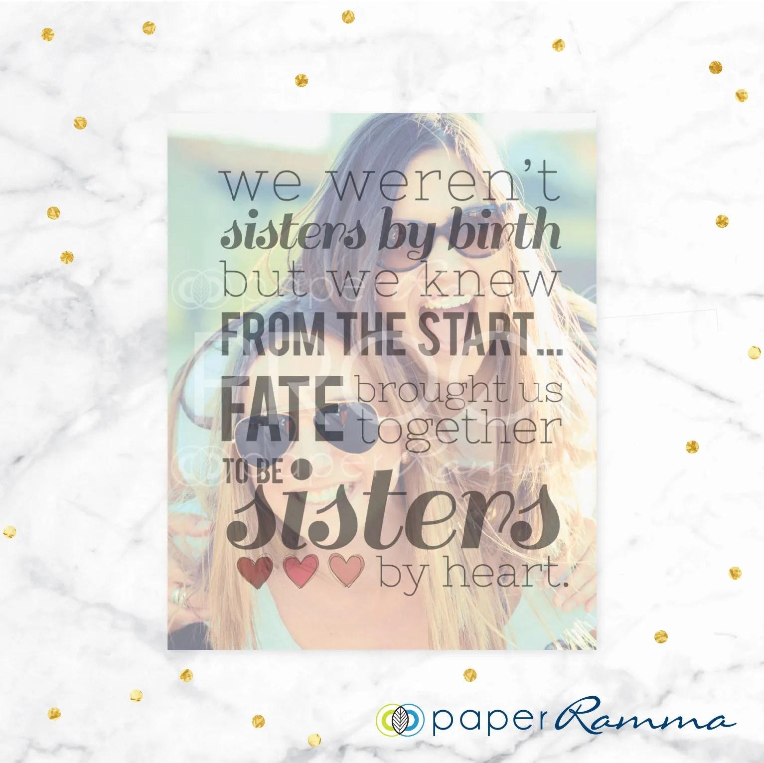 sisters by heart best