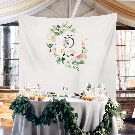 wedding backdrop wedding head
