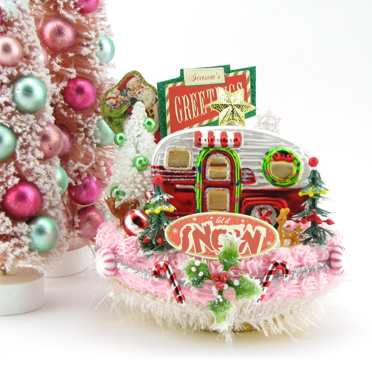 Vintage Inspired Christmas Decorations