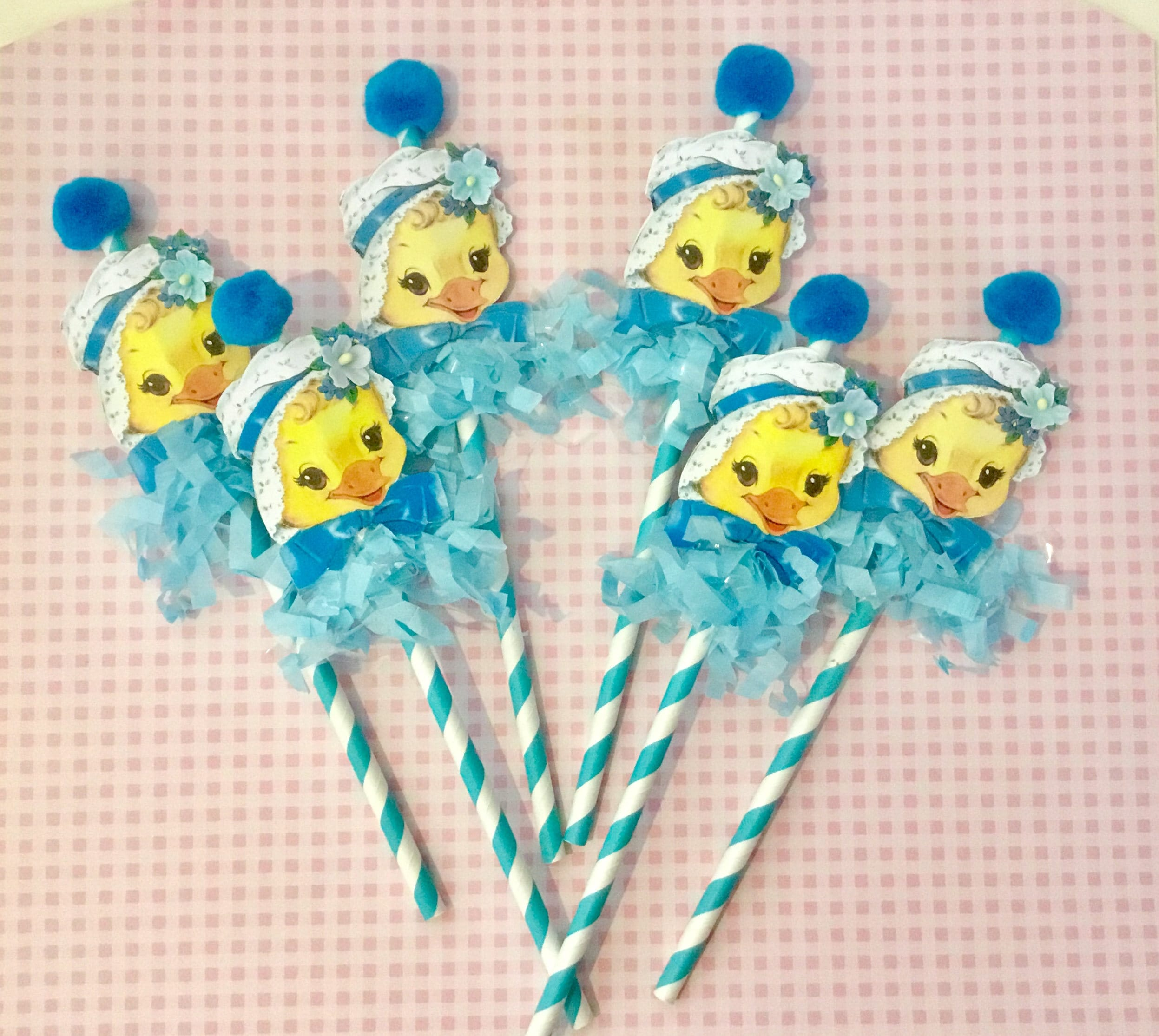 Easter Ducks Easter Decorations Easter Table Baby Shower Baby Cake