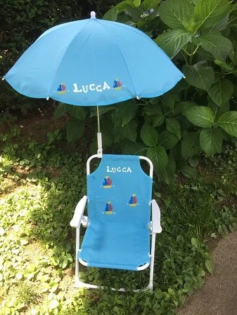 toddler beach chairs weird rocking chair personalized umbrella for kids etsy image 0