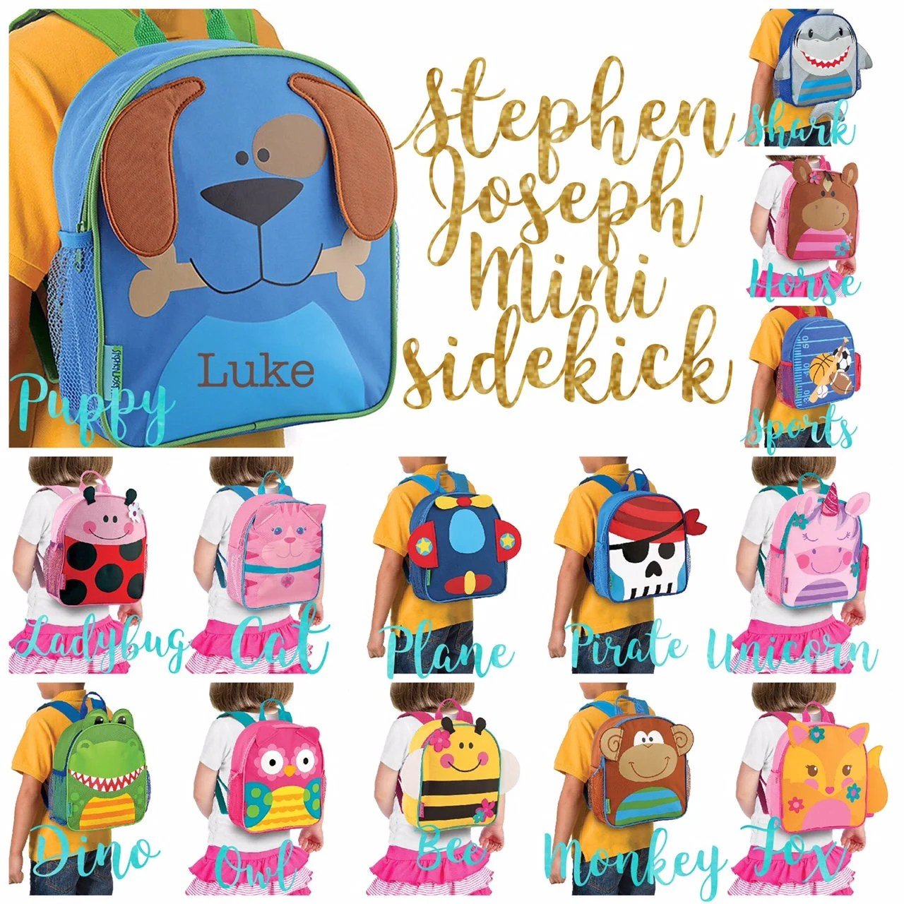 personalized toddler backpack toy