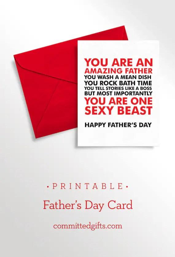 Printable Birthday Cards For Husband : printable, birthday, cards, husband, Printable, Father's, Husband, Naughty, Funny