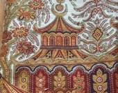 """Vintage Clarence House """"Karachi"""" Fabric 2 yards"""
