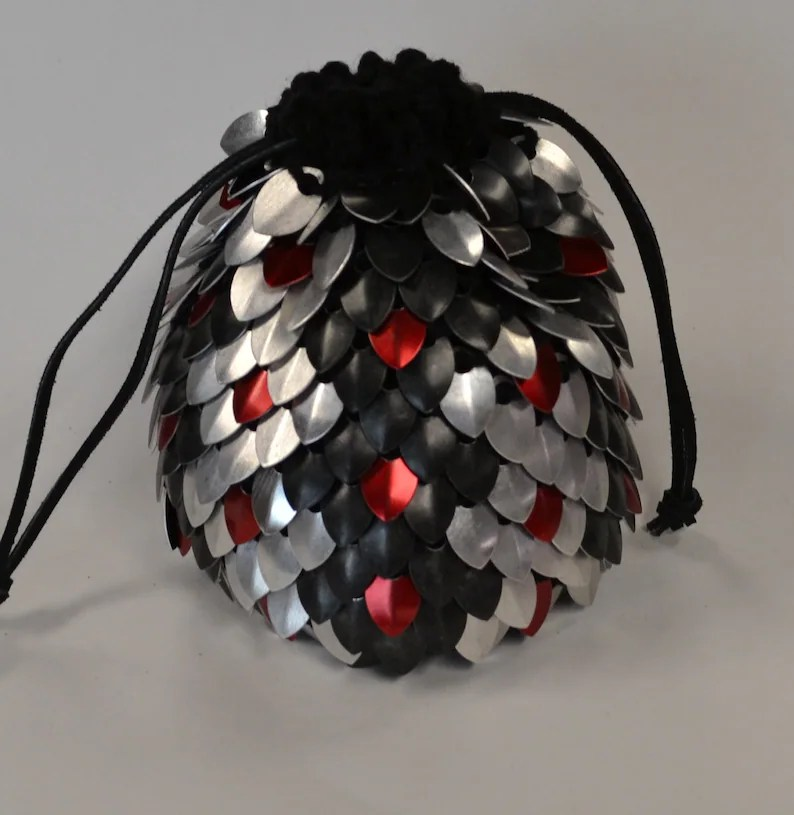 scalemail dice bag of