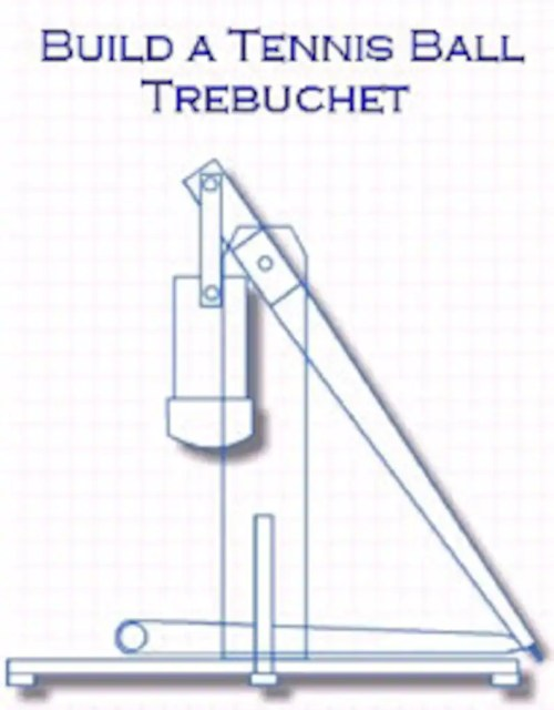 small resolution of science project trebuchet 6 feet tall step by step plans etsy the following diagram illustrates the model of the trebuchet to use