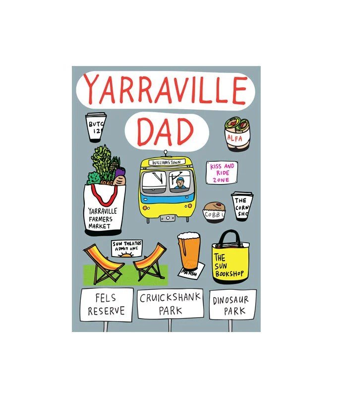Father S Day Card Melbourne Dad Etsy