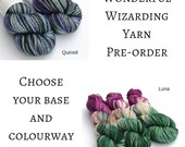 Hand dyed Wizarding yarn ...